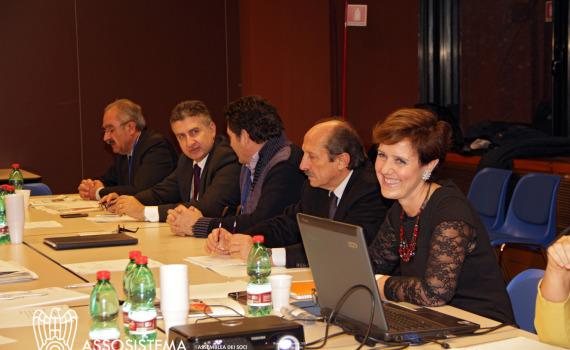 Assosistema, assemblea dei soci, 5 dicembre 2014 Consiglio Diret