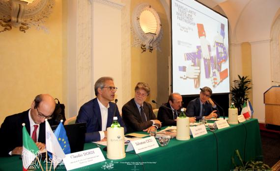 Assosistema, assemblea dei soci 15 luglio 2016 e Convegno TTIP,